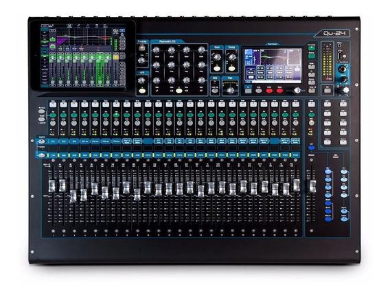 Allen Heath Qu24 Chrome Mixer Digital Qu 24 Canais / Wx