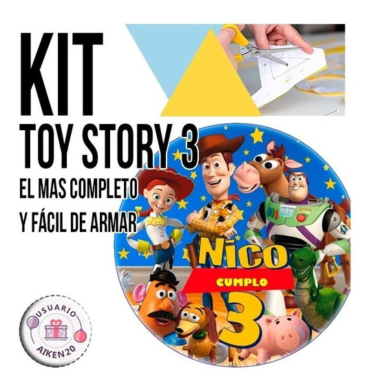 Kit Imprimible Toy Story 3 Fiesta !!!!!!!!!