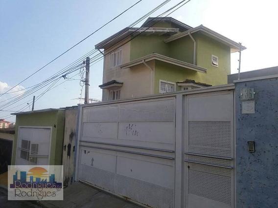 Sobrado Residencial À Venda, Alto Ipiranga, Mogi Das Cruzes. - So0043