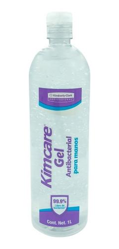 Imagen 1 de 1 de Gel Antibacterial Kimcare Manos Desinfectante Sanitizante 1l