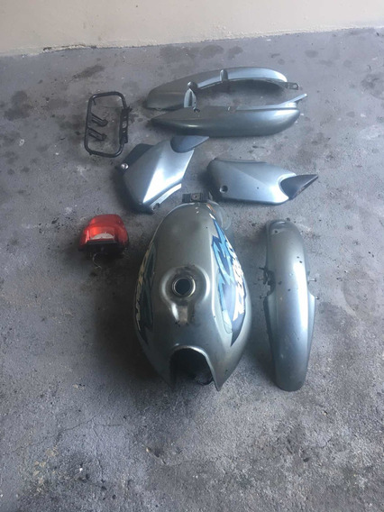 Tanque E Carenagens Honda Cg Titan 125 2002
