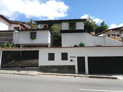 Excelente Casa En Zona Privilegiada De Caracas
