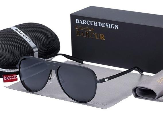 Gafas De Sol Barcur Hd Polarizadas Uv 400 Hombre Lentes Moda