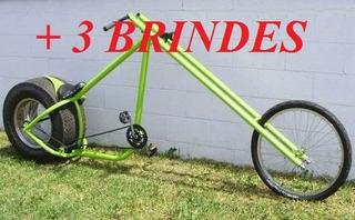 Projeto Bicicleta E Moto Chopper + Frete Grátis + 3 Brindes.