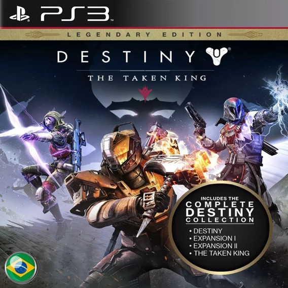 Destiny - Legendary Edition Portugues Ps3 Psn Original