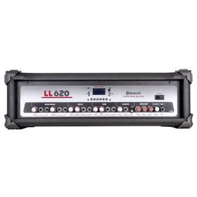 Cabeçote Amplificado Multi-uso 150w Com Usb Ll620 Ll Áudio