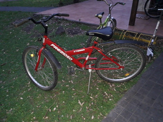 Bicicleta Marca Prezioso Roja Rodado 26