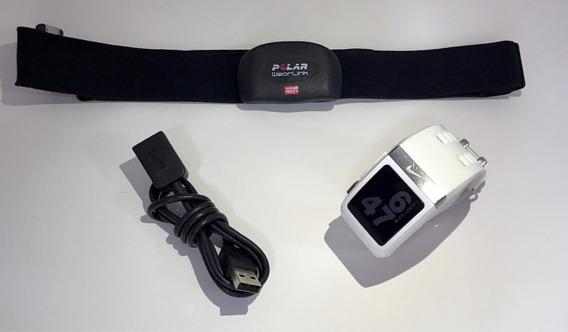 Relógio Nike Sportwatch Tomtom + Cinta Polar Wearlink
