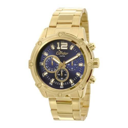Relógio Condor Masculino Civic Dourado Covd54ae/4a