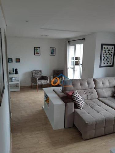 Apartamento Com 2 Dormitórios À Venda, 66 M² Por R$ 540.000 - Vila Mazzei - São Paulo/sp - Ap0948