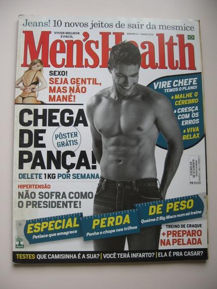 Revista Men´s Health - Nº 47 - Chega De Pança!