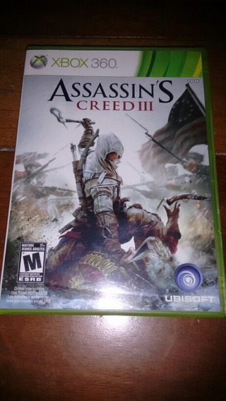 Assassins Creed 3 Xbox 360/one