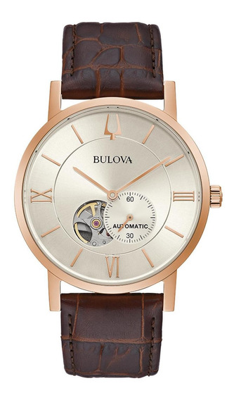 Relógio Masculino Bulova Classic American Clipper Rosegold