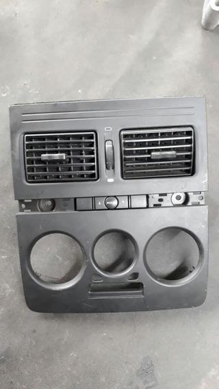 Moldura Painel Central Difusores Botoes Fiat Idea 100166979