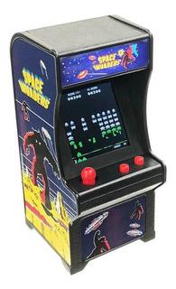 Mini Fliperama Tiny Arcade Space Invaders World