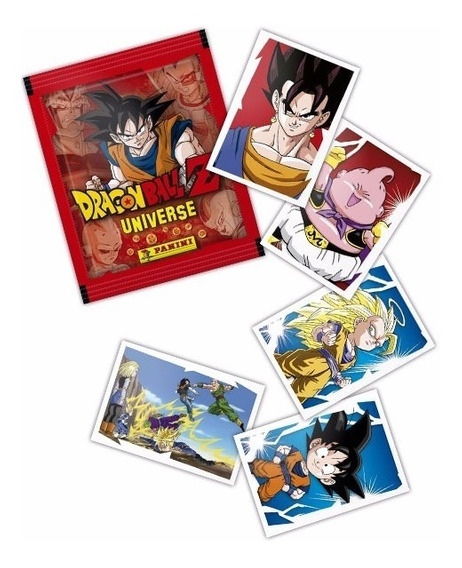 Estampas Sueltas Dragon Ball Z Universe Panini Album