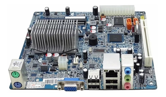 Placa Mãe Pos-einm10cb Com Processador Intel Atom Integrado