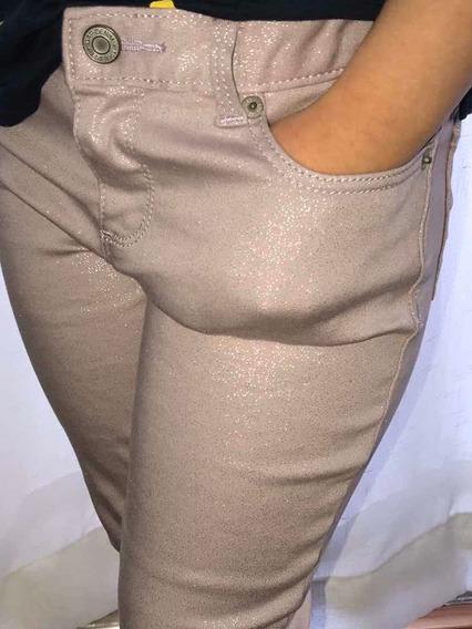 Calça 14 Anos Menina Jeans Gap Sarja Brilhos Original