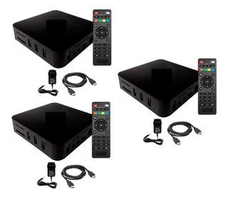 3 Conversores Convertidor Smart Tv Box Android7 2gb Ram 16gb