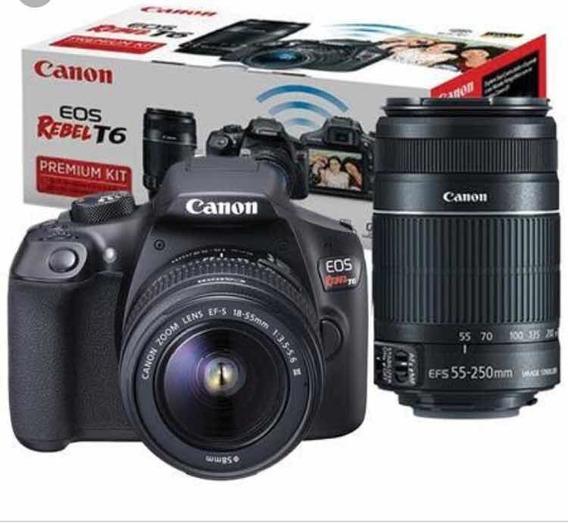 Canon T6 Com Lente 50mm