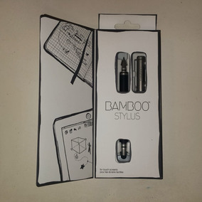 Caneta Wacom Ipad E Iphone Bamboo Duo Gray Gen. 3