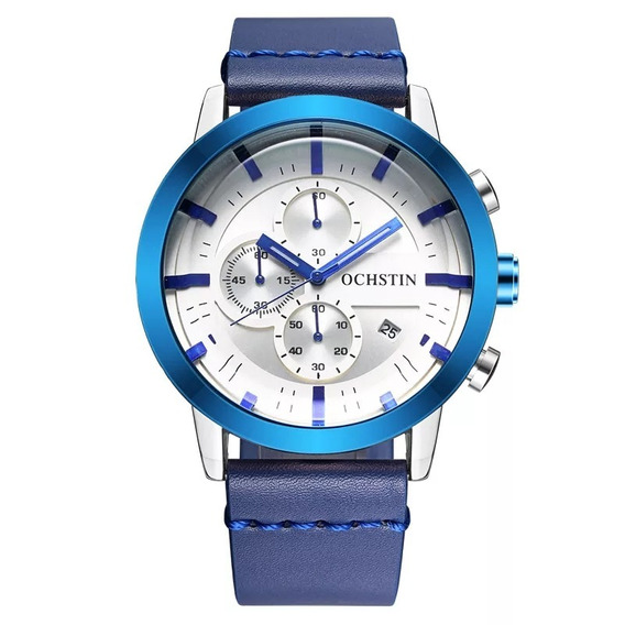 Relógio Masculino Ochstin 6046 Pulseira Couro