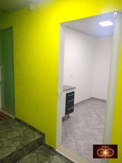 Alugo Casa 1 Dormitório Para Alugar, 33 M² Por R$ 700/mês - Jardim Capelinha - São Paulo/sp - Kn0001