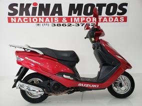 Suzuki Burgman 125 - Vermelha - 2014
