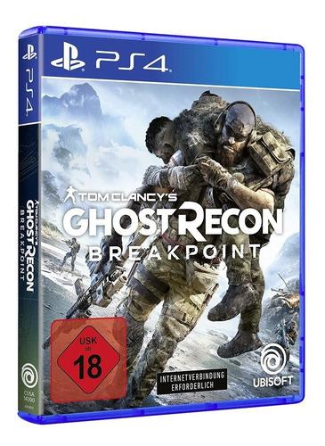 Imagen 1 de 8 de Juego Fisico Tom Clancy's Ghost Recon Breakpoint Sony Ps4