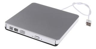 Controlador De Cd / Dvd Rom Usb2.0 Externo Cd Grabador Para
