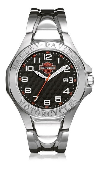 Relógio Bulova Masculino Harley Davidson - Wh30180t