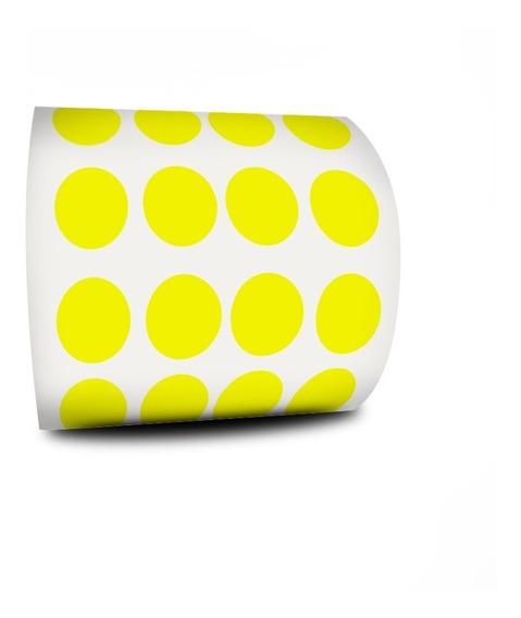 Etiqueta Bolinha Pequena Colorida 1000 Etiquetas