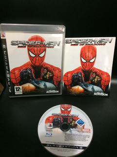 Spiderman Web Of Shadows Ps3