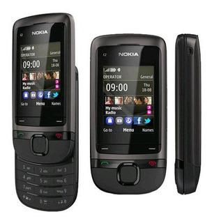 Nokia C2-05 Gsm Barato Telefone Móvel Slide Toque & Tipo Te