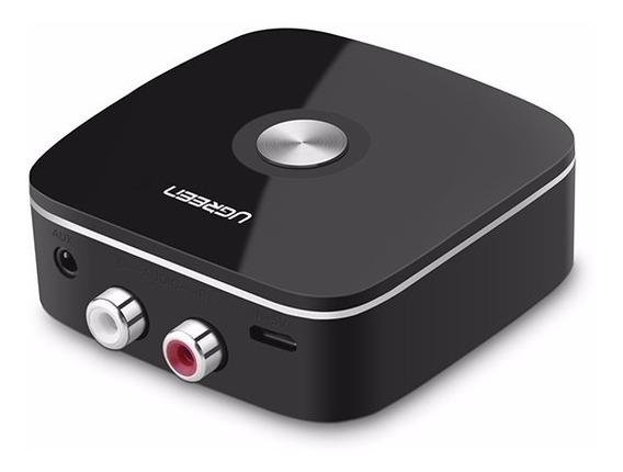 Receptor Bluetooth 4.2 Rca Auxiliar 3.5 Mm Áudio Som Ugreen