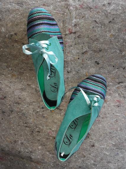 Zapatos Oxford De Mujer !!! Talla 36(rojos) Y Talla 38