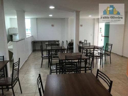 Imagem 1 de 30 de Cobertura Com 2 Dormitórios À Venda, 62 M² Por R$ 530.000,00 - Paraíso - Santo André/sp - Co0174