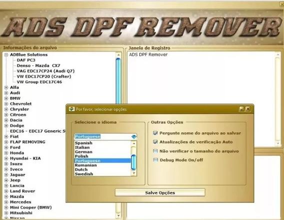 Remover Dpf / Egr / Lambda V2017 - Promoção