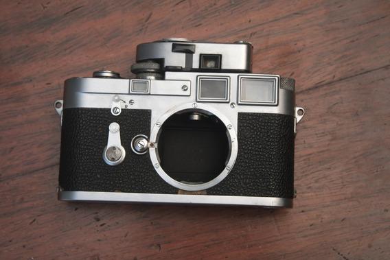 Leica M3 Double Stroke 1955 Com Fotômetro Leica Meter Mr