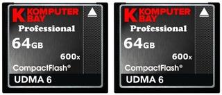 Komputerbay 2 Pack - 64gb Profesional Tarjeta Flash Compact