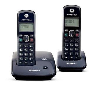 Par De Teléfonos Inalambricos Motorola Auri-200-2 P/ Reparar
