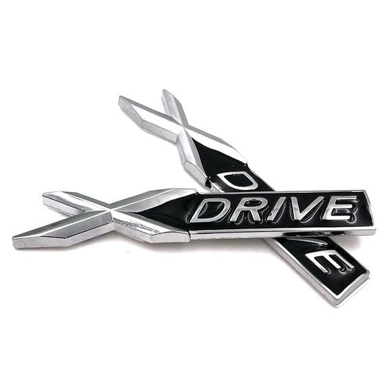 Par Emblemas Laterais Bmw Xdrive X1 X2 X3 X4 X5 X6 Em Metal
