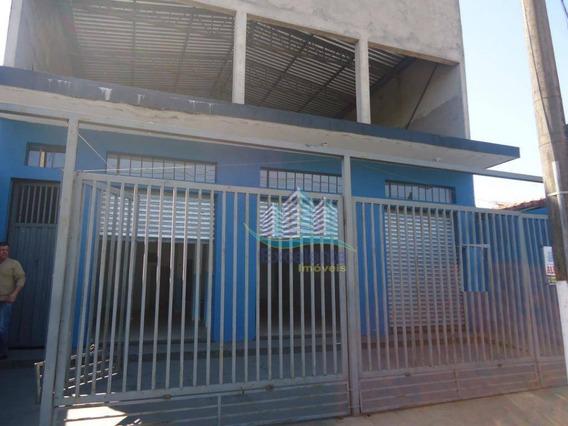 Salão Para Alugar, 275 M² Por R$ 2.500/mês - Jardim Santa Clara Do Lago I - Hortolândia/sp - Sl0121