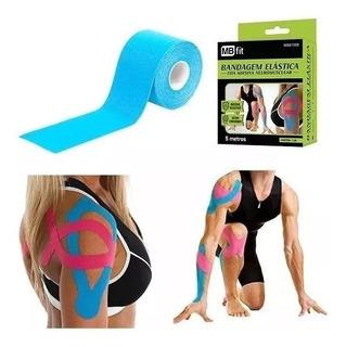 Bandagem Elastica Fita Adesiva Neuromuscular 5mts Promoção