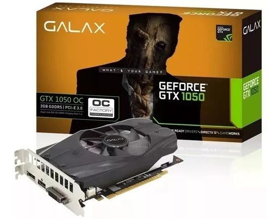 Placa De Vídeo Nvidia Gtx 1050 Oc Galax 2gb Ddr5