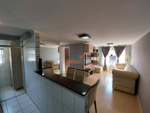 Apartamento À Venda, 58 M² Por R$ 220.000,00 - Pinheirinho - Curitiba/pr - Ap0341