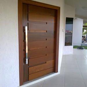 Porta Pivotante Madeira 215x150 Entrada Sala