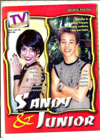 Revista Poster Tv Mania Nº 38 - Sandy & Junior