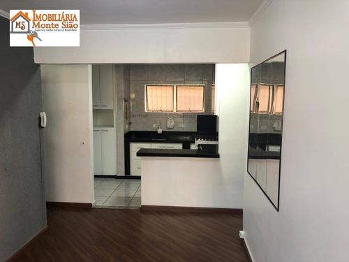 Imagem 1 de 10 de Apartamento Com 1 Dormitório À Venda, 50 M² Por R$ 202.000,00 - Vila Leonor - Guarulhos/sp - Ap2004
