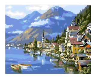 Kit Pintura Al Oleo Australia Enumerado Pintura Pinceles